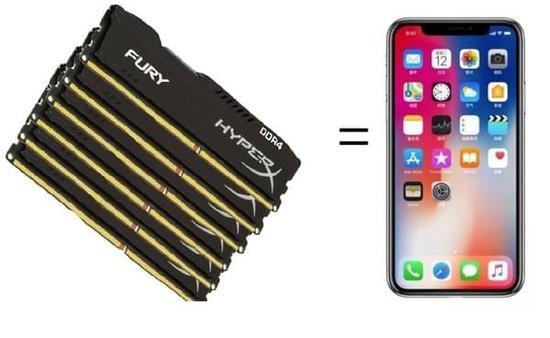 内存价格要上天:6条内存可买iPhone X
