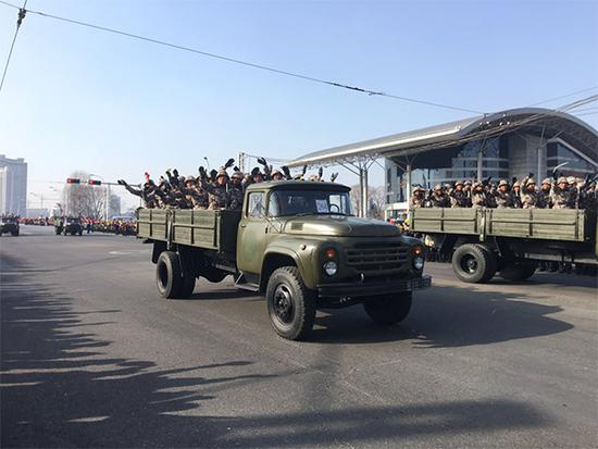 朝鲜大阅兵未实况直播 媒体:关键看最先进导弹数量