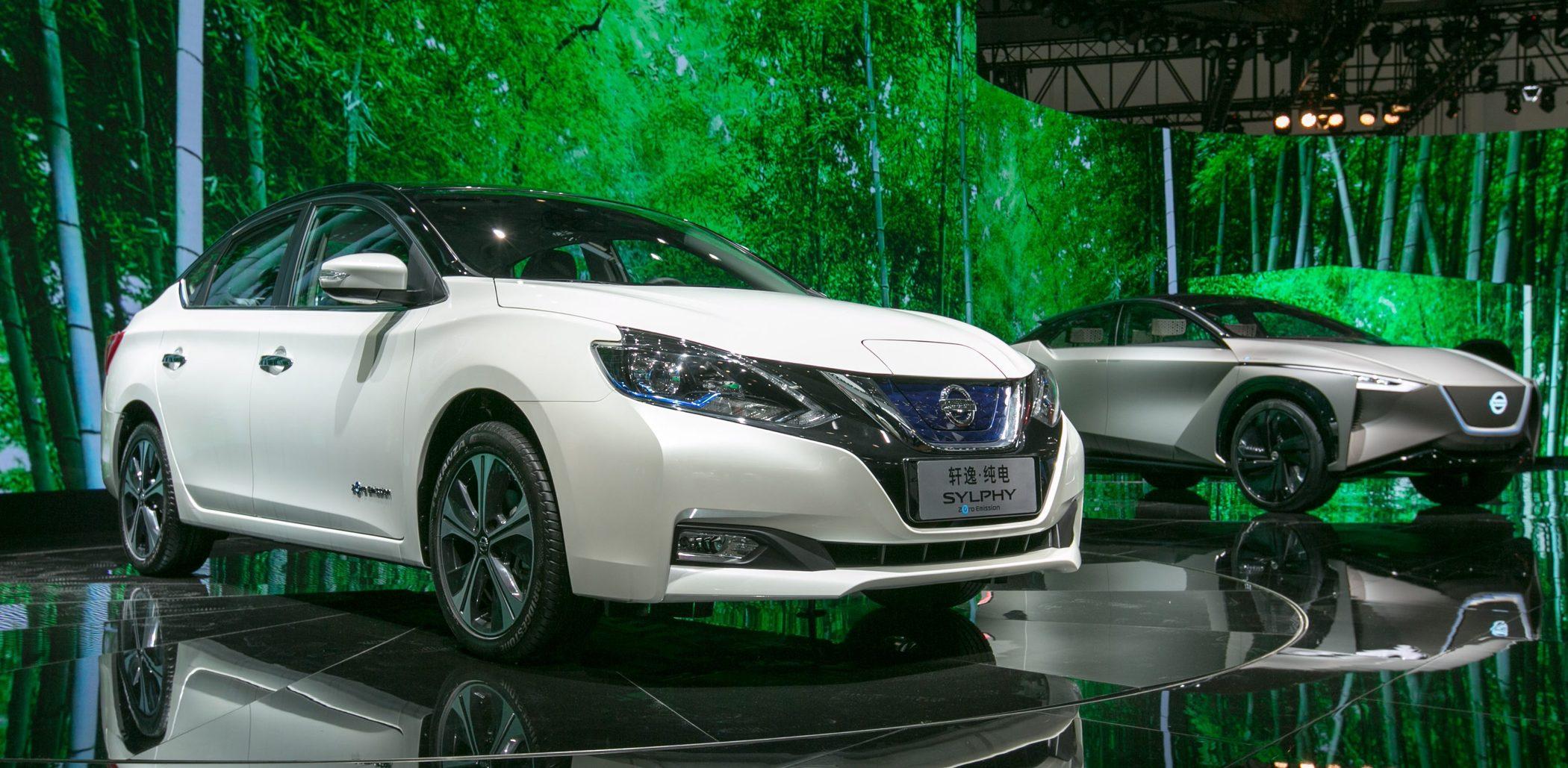 日产开始在生产电动车, 起价不到 17万元