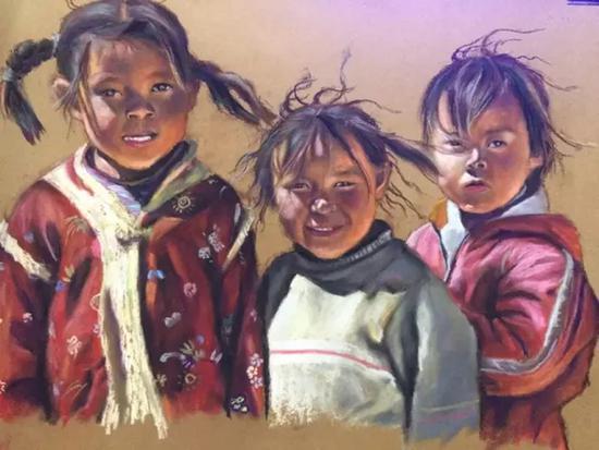 用时7年手绘2000张画作 一位妈妈这样记录女儿成长