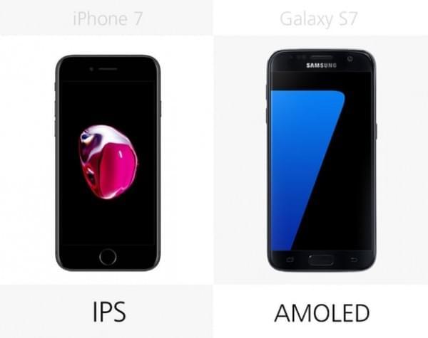 iPhone 7和Galaxy S7规格参数对比的照片 - 9