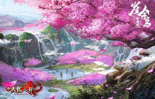 崖余岛的巨大桃树终年盛放