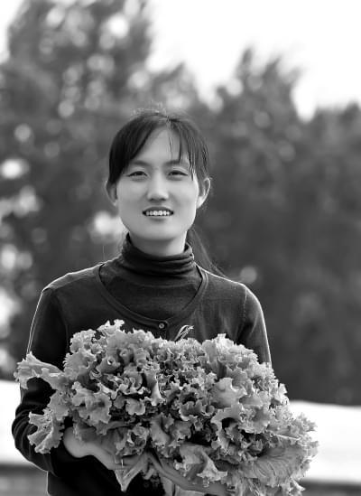 女博士石嫣:在北京当菜农
