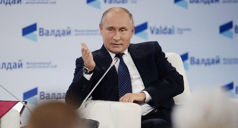 普京:恐怖分子在叙劫持约700名人质 每次射杀10人