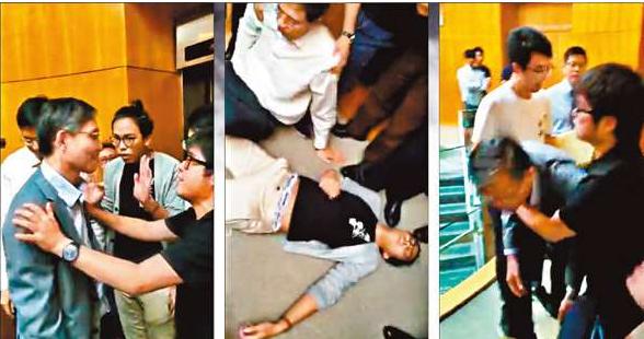 """香港理大学生会涉嫌禁锢副校长 港媒:有""""港独""""作祟"""
