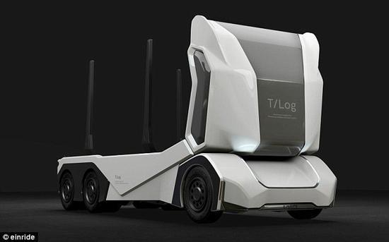 瑞典打造自动驾驶卡车 纯电动无污染可远程遥控