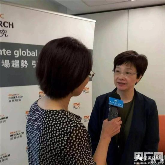 邱丽萍接受央广记者采访