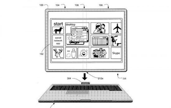 微软又申请新专利!Surface产品可以折叠使用?
