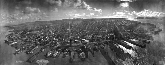 在1906年,旧金山发生了大地震,整个城市毁于一旦