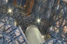 长征五号11月上旬择机发射:发射塔架内部曝光