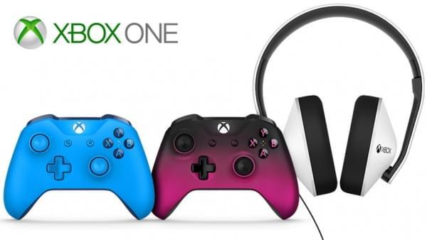 微软宣布新款Xbox One手柄及特别版耳机的照片 - 1