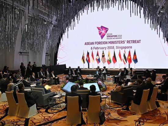 东盟外长会议在即 这一问题又被西方故意炒作