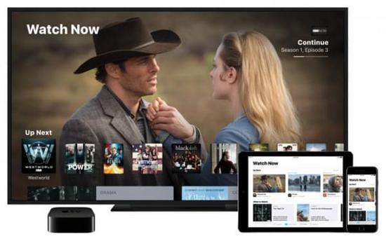 iOS设备和Apple TV上的TV应用现可以播放Netflix电影