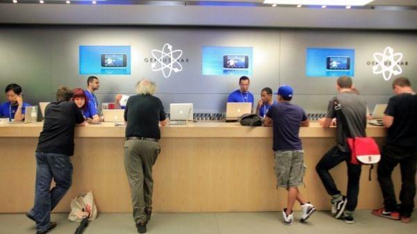 苹果售后服务区别对待中国 故障机只能维修