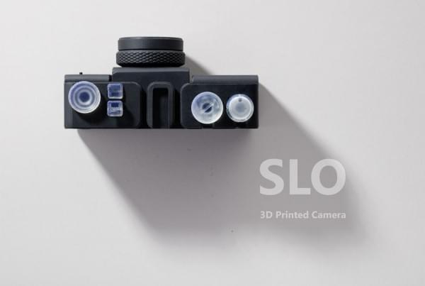SLO:连镜头和快门都是3D打印的35mm胶卷相机的照片 - 1