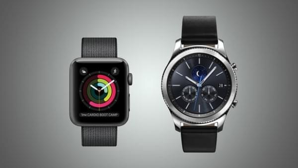 Apple Watch Series 2和三星Gear S3规格参数对比的照片 - 1