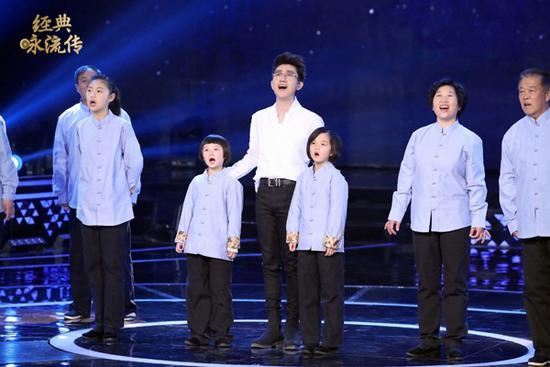 《经典咏流传》播出 天籁童声唱响最美《江南》