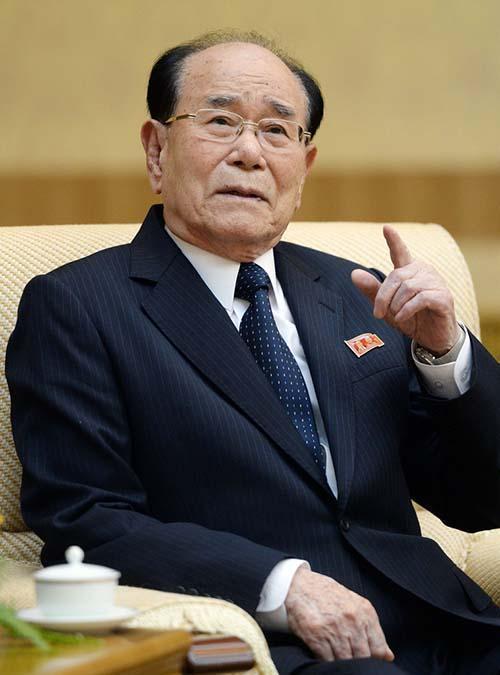 韩媒:朝鲜高官金永南将率代表团于2月9日-11日访韩