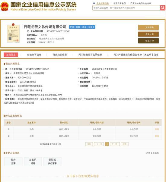 赵薇悄悄退出龙薇传媒经营层,几百名股民还在索赔!