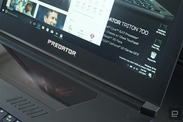 透明触控板+机械键盘 宏碁超薄i7游戏本Predator Triton 700发布的照片 - 10