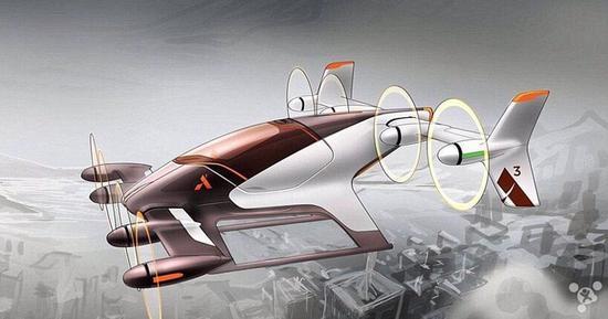 为了缓解交通拥堵 空客研发测试载人飞行汽车