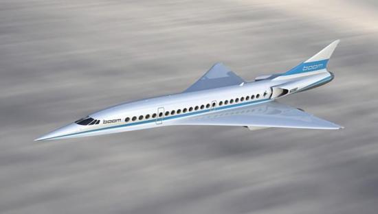 4小时北京飞洛杉矶 4倍超音速boom飞机年底试飞?