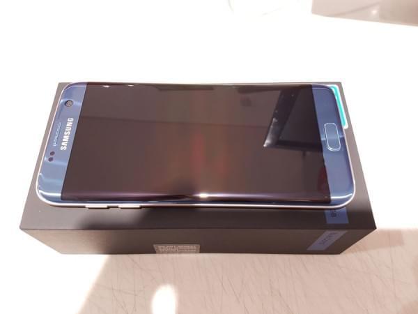 珊瑚蓝版Galaxy S7 edge开箱的照片 - 5