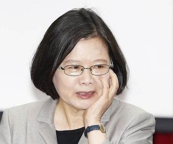 台湾地区领导人蔡英文(资料图)