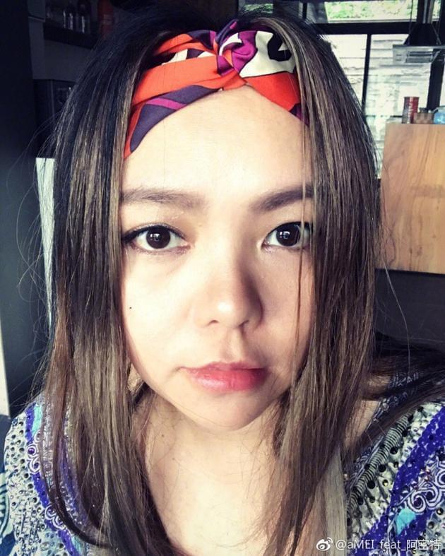 张惠妹跟音乐妩媚摇摆 从少女到性感只需一秒