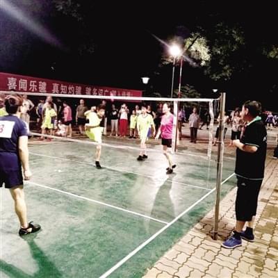 郑州市毽球联赛