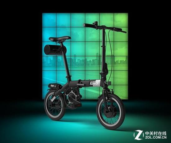 智慧电单车KUPPER Rubik昆铂魔方众筹