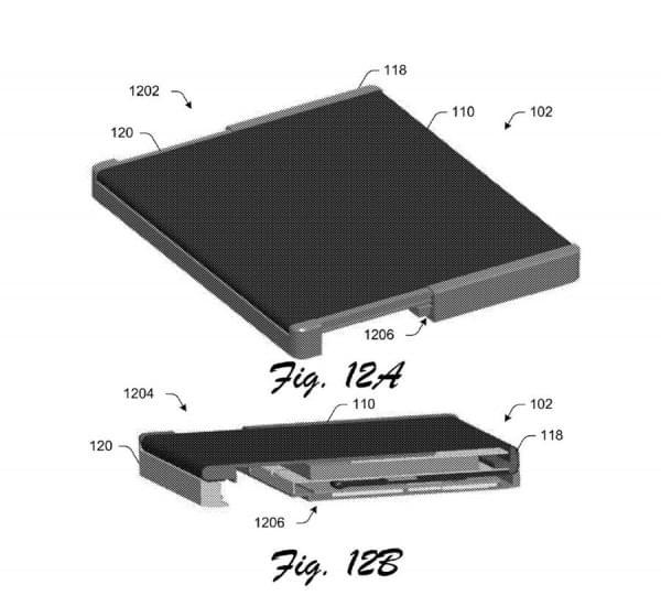 可折叠Surface手机?微软专利显示手机可变成平板电脑的照片 - 8
