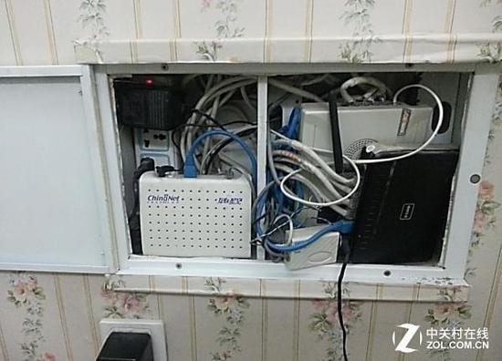 家庭弱电箱接线图cad