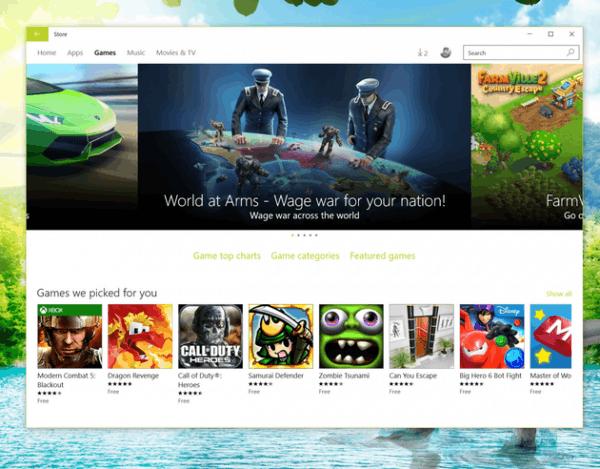 微软为Windows 10平台游戏加入离线模式 大部分游戏将支持的照片