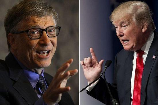 比尔·盖茨:川普时代下,我仍对未来充满信心