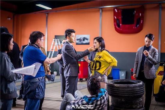常丹丹加盟电影《极速弯道》,变身酷炫赛车