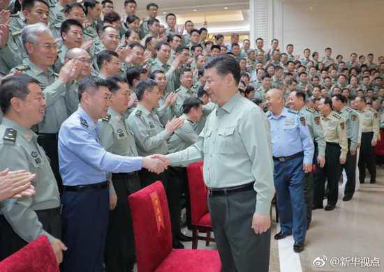 习近平视察军事科学院:努力建高水平军事科研机构