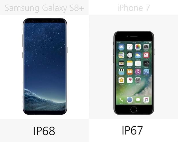 Galaxy S8+和iPhone 7规格参数对比的照片 - 6