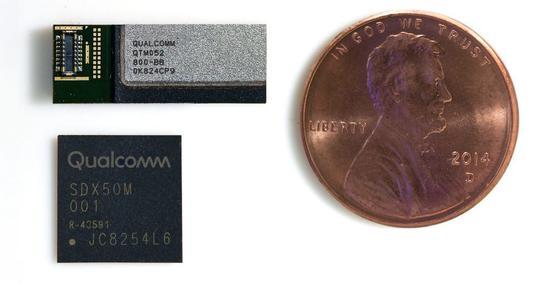 技术突破:高通展示首款5G毫米波智能手机天线模块