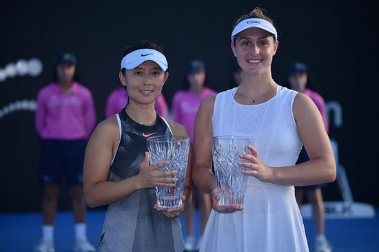 悉尼赛徐一璠速胜登顶 获双打赛季首冠生涯第7冠