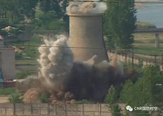 朝鲜销毁丰溪里核试验场(资料图)