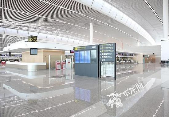 "T3A航站楼长啥样?想提前打探 来""重庆""客户端报名"