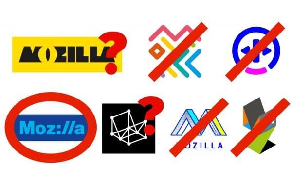 Mozilla邀请公众重新设计logo 方案缩小至4个的照片 - 3