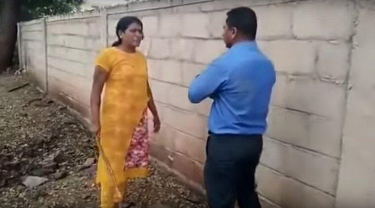 """印度金融公司經理要求""""以性換貸"""" 被女子""""暴打"""""""
