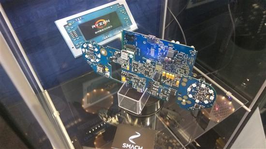 AMD锐龙加持:Smach Z PC掌机明年初量产