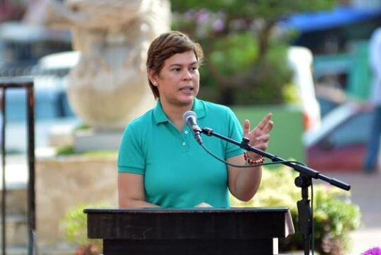 女儿萨拉将接棒当菲律宾总统?杜特尔特表态了