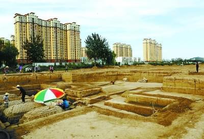 北京发现汉代古城