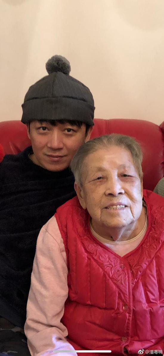 潘粤明与姥姥