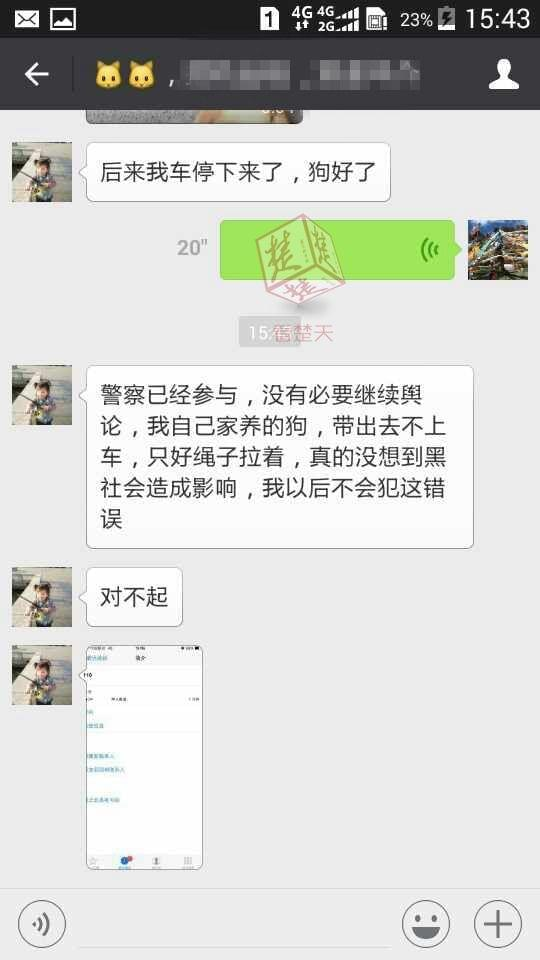 """黄狗被绑车后拖行 黄石男子虐狗遭网友""""通缉""""求原谅的照片 - 4"""