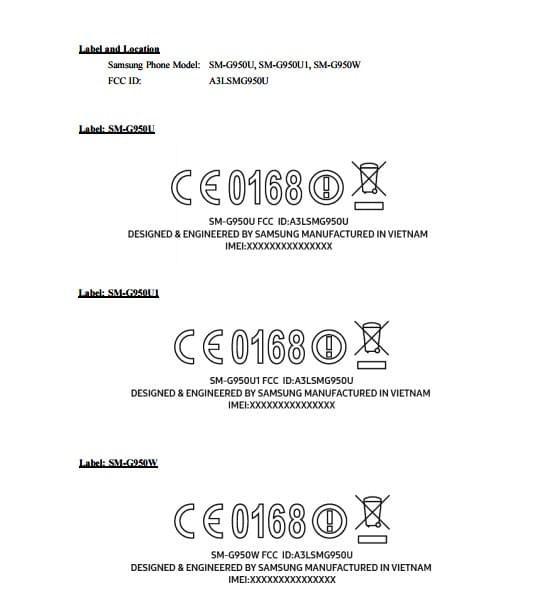 三星Galaxy S8/S8+通过FCC认证 共有三种型号